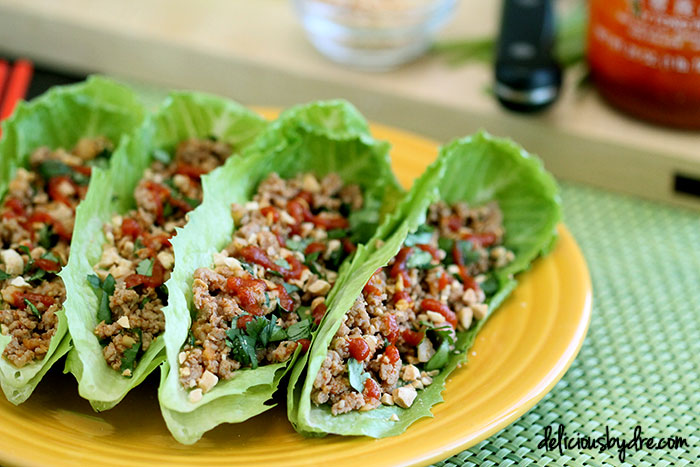 Thai Basil Turkey Lettuce Wraps Recipes — Dishmaps