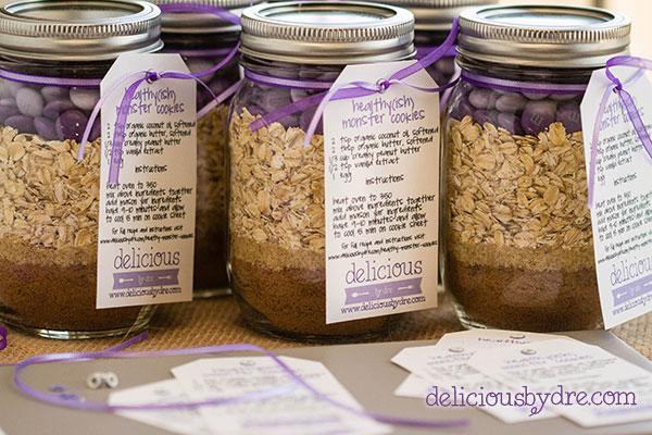 Mason Cookie Jar Recipes Mason Jar Cookie Mix Favors